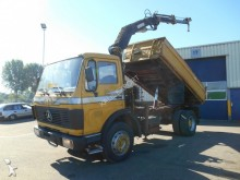 camion Mercedes 1619 Kipper with Crane V6 Top Condition
