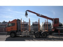 camión Scania R 480 6X4 LOG TANSPOT WITH JONSEED LOGLIFT