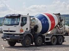 camion calcestruzzo betoniera mescolatore + pompa Renault
