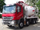 camion Mercedes ACTROS 4141 8x4 EURO5 SCHWING 24M TOP!!!