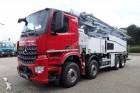 camion Mercedes AROCS 3243 8x4 EURO6 BETONPUMPE PUTZMEISTER 42M