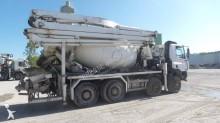 camion béton malaxeur + pompe DAF