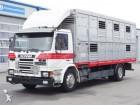 camion van per trasporto di cavalli Scania usato