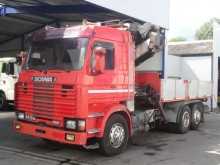 camion Scania M 143 - 450 / 18 t/ Stern / anuel / V8