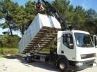 camión volquete para chatarra DAF usado