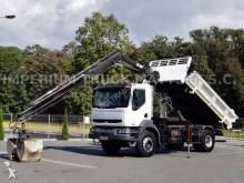 ciężarówka Renault KERAX 320 / / 2 STR WYWROTKA / HDS HIAB /
