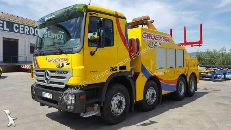 camion mercedes d u00e9pannage actros 4146 8x4 euro 4 occasion