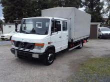 camion Mercedes 816 D Vario Maxi Doka Pritsche + Plane LBW AHK