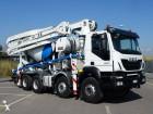 camion béton malaxeur + pompe Iveco occasion