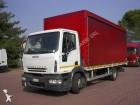 used Iveco sliding tarp system truck