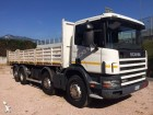 used Scania three-way side tipper truck