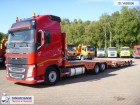 camion Volvo FH13 500 6x2 truck/machinery transporter + trail