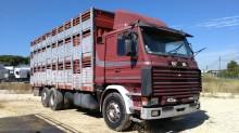 camion bétaillère porcins Scania occasion