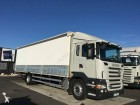 camion plateau ridelles bâché Scania occasion