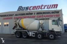 camion calcestruzzo betoniera mescolatore + pompa Mercedes