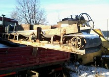 camion ribaltabile Unimog usato