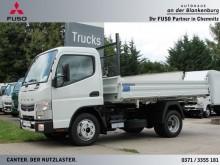 camión volquete trilateral Mitsubishi