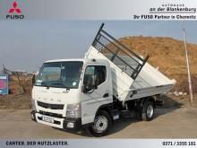 camion Mitsubishi Fuso FUSO Canter 7C15 Kipper Stahl AHK KK Sperre 1.Ha