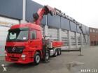 camión Mercedes Actros 3351 V8 8x4 BlueTec Euro 5 HMF 80 t/m Kra