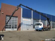 camion Scania R 164.480 V8 8x4 etade Hiab 70 ton/mete Kan