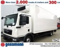camion MAN TGL 12.220 4x2 BL Frischdienst-Kühlkoffer Autom.