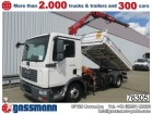 camión MAN TGL 8.180 BB 4x2, mit Kran Fassi F65 A.21 Klima