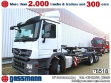 camion Mercedes Actros 2536LL 6x2, 3 x Pedale, mit
