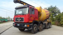 camión hormigón MAN usado