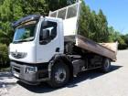 camión volquete trilateral Renault usado