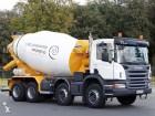 camión hormigón mezclador + bomba Scania usado