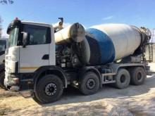 camión hormigón cuba / Mezclador Scania usado