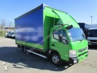 camion Mitsubishi FUSO 7 C 18 Pritsche/Plane LBW 1,5 to. NL 3,18 T