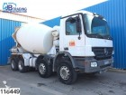 camión Mercedes Actros 3236 8x4, 8 M3, 13 Tons axles, Manual, Ai