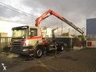 camion Scania P230+Fassi F150(2010)+containersysteem(20