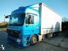 camion cassone centinato alla francese Mercedes usato