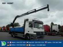 camión Mercedes ACTROS 2540 - 6X2 EPS HUB REDUCTION WITH PALFINGER PK13500