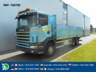 camion Scania R124.470 6X2 MANUAL FULL STEEL EURO 3