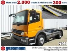 camion Mercedes Atego 1218 4x2 mit neuem Schiebeplateau NSW