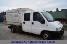 camion Fiat Ducato 2,8 JTD Pritsche+Plane DoKa TÜV