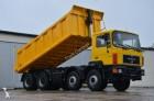 camion MAN 35.372 8x4 model 1990 - TIPPER