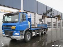 camion Ginaf X4243 TS 8x4 Hiab 20 ton/meter Kran Rijplaten tr