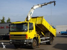 camion DAF CF 65 TIPPER + CRANE / FULL STEEL