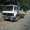 camion scarrabile Mercedes incidentato