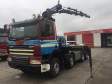 camion DAF CF85-430 8X4 MANUEL GEARBOX FUL STEELSPRING
