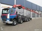 camión DAF 85 FAD CF 480 8x4 Hiab 42 ton/meter Kran