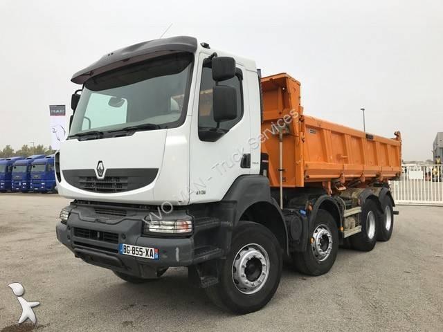 Camion renault bi benne meiller kerax 410 8x4 gazoil euro 4 occasion n 1783764 - Garage renault cavaillon ...