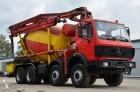 ciężarówka betonomieszarka Mercedes używana