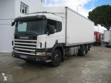 camion fourgon Scania occasion