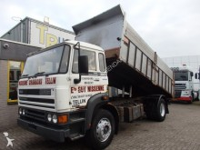 camión DAF 1900 + double cylinder tipper + manual