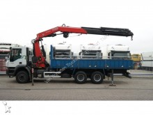 camión Iveco Trakker 330 6X4 OPEN BOX WITH FASSI F 425 XP CRA